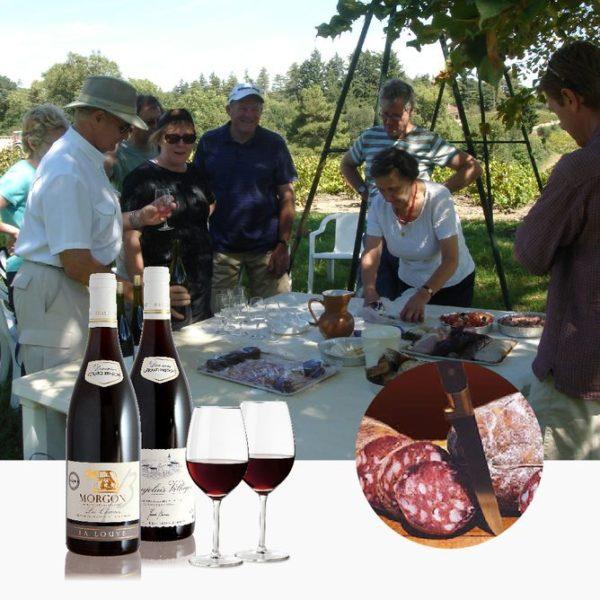 Apéritif vigneron au Domaine Gérard Brisson