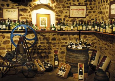 Tasting cellar of Domaine Gérard Brisson