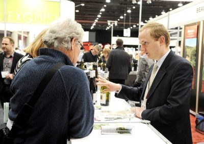 Louis Brisson au salon des vins de Quebec
