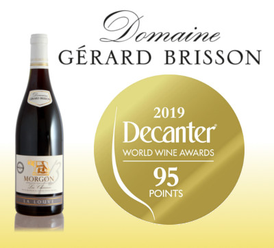 Decanter World Wine Awards 2019 – Médaille d'Or
